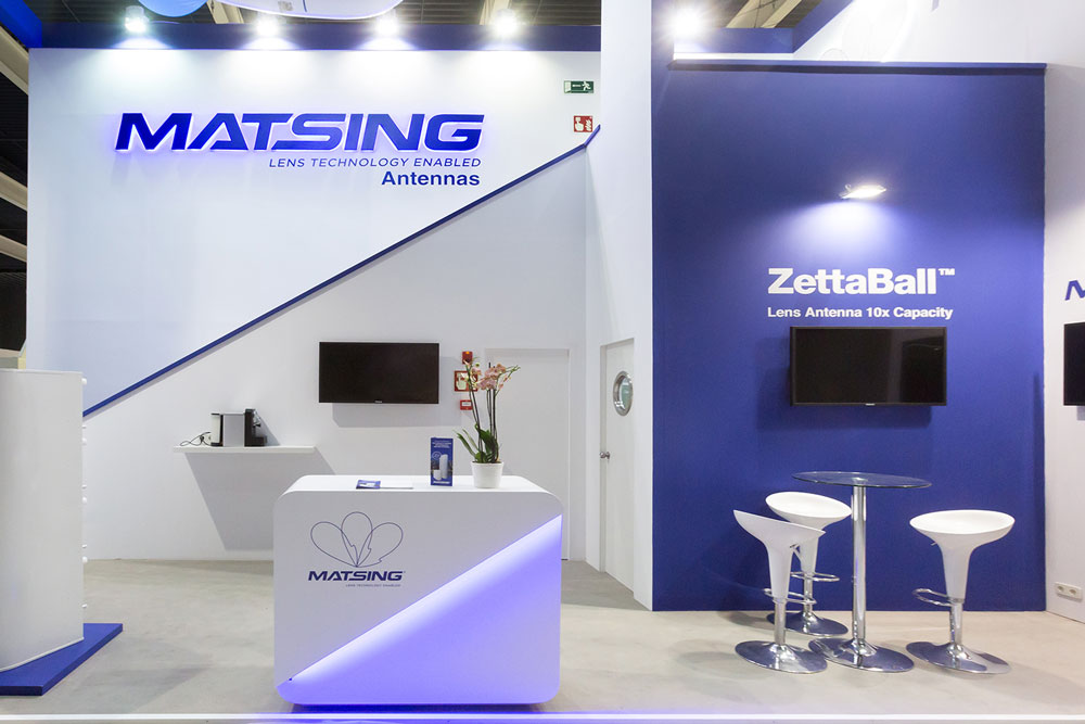 Exhibition Booth In Spanish : Matsing inc. exhibition booth sisters inc.